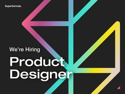 We're Hiring | Product Designer flutter app mobile app design agency product design app job listing hiring flutter mobile app ux ui design