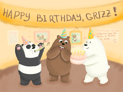 Grizz's Birhday