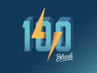 100 Deployments Logo