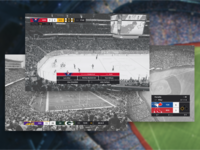 Sports Broadcast Interface Designs