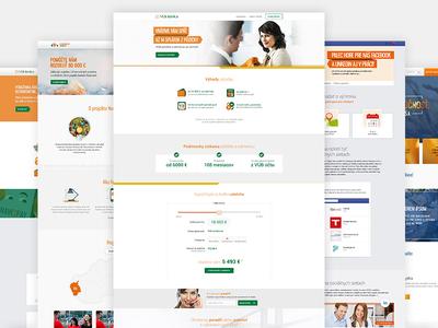 VUB Bank Slovakia | Various microsites