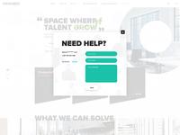 Dribbble concept for client popup