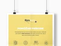 Dribbble 3 gyncare poster