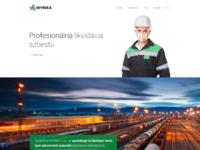 Wynxa homepage desktop