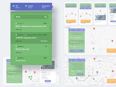 Kdenabijat Interactive Map map ux ui webdesign