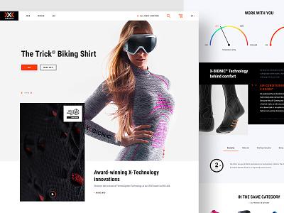 Xbionic proposal concept eshop ecommence webdesign ux ui xbionic proposal