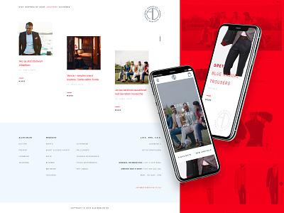 Alain Delon Concept ecommerce eshop concept fashion ux ui webdesign