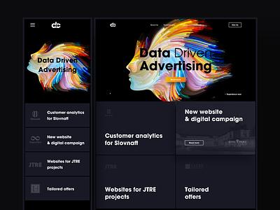 Dataconcept redesign webdesign ux ui