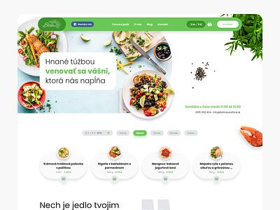 Bistro Sunshine redesign webdesig