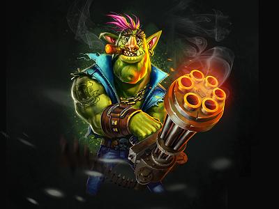 Troll iamjoka character design character wacom 2d illustration art