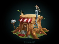Stumphouse big