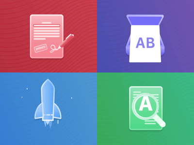 PDF Expert Icon Animations icon icons motion design motiongraphics animation aftereffects adobe productivity ipad iphone macos ios app pdf expert readdle