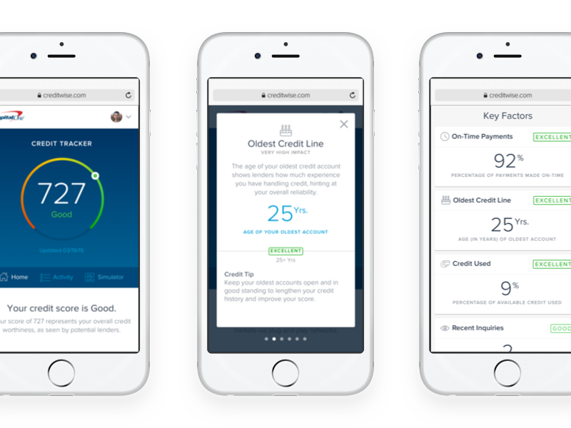 Creditwise mobileweb