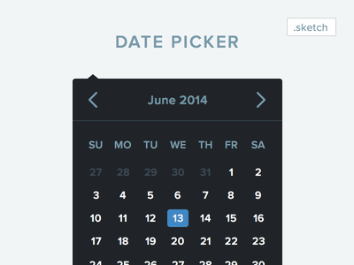 Sketch Date Picker Download datepicker date sketch download resource free flat ui design forms input