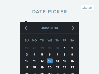 Sketch Date Picker Download