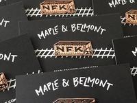NFK Train Pin