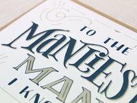 Manliest Card