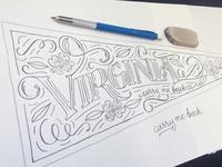 Virginia Pennant Sketch