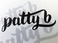 Patty B Logo