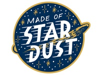 Stardust Patch Mockup