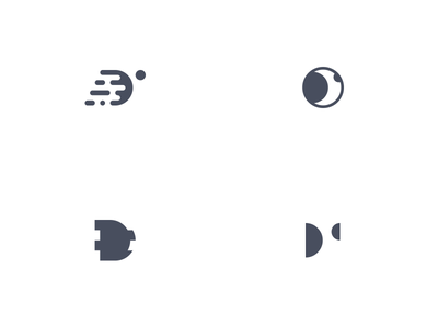 digital - rejected logo marks letter simple mono icon studio symbol mark logo d digital