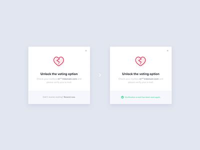 📸 Shuttout – Modals verification icon flat web clean ui popup modal shuttout