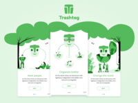 Trashtag challlenge app onboarding