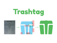 Trashtag challenge logo