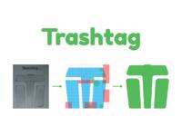 Trashtag challenge logo onboarding language apple cart card education ios inspiration minimal android trend logo material design animation illustration app minimalist clean ux ui