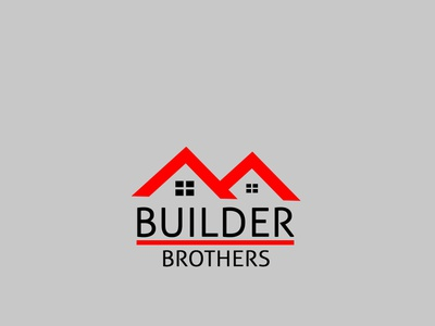 Builder Brothers website auto complete lettering minimal ios app web vector typography flat auto animation icon design branding logo tech logo illustration company builder brothers