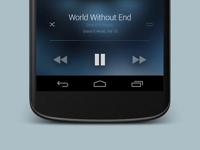 Google Play Music Redesigned
