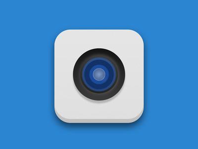 Camera icon on iOS 7 - Concept
