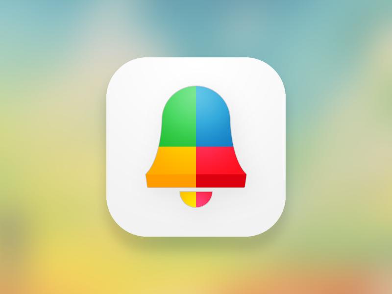 Alarm App Icon ios 7 alarm icon illustrator colors photoshop