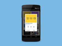 Dribbble on Android - Quick View