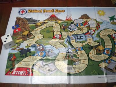 Philippine Redcross Illustration board game illustration