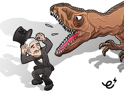 MC Mascot & Carcharodontosaurus