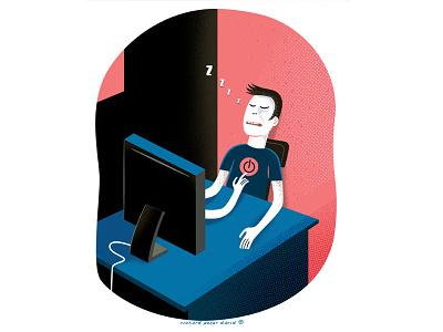 Reboot reboot illustration