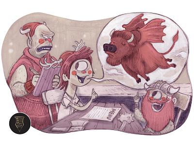 Buffalo Wings  buffalo wings illustration ecartoonman