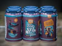 Second Set Pilsner | Beer Can Design