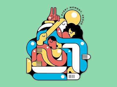 Pride Month Tshirt Design vector design illustration pride 2019 pride month pride