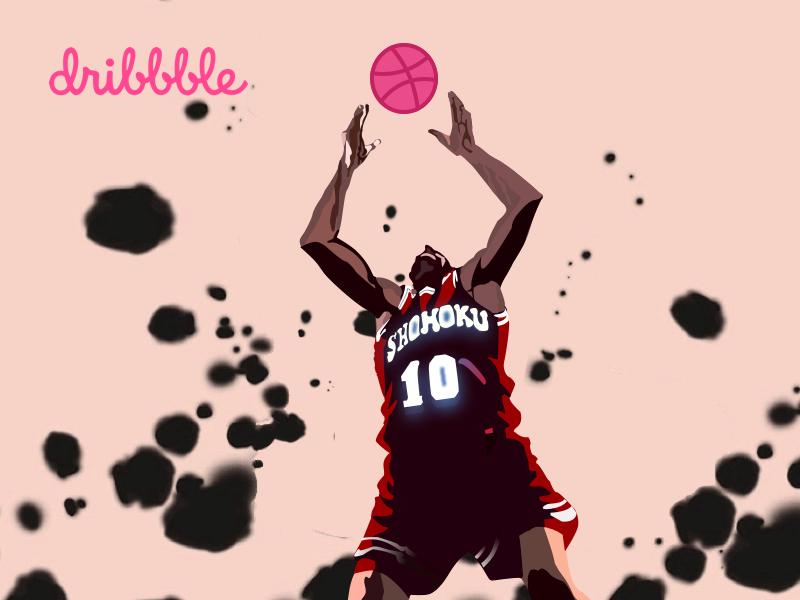 Hi , Dribbble! website icon ux branding design illustration app web ui logo