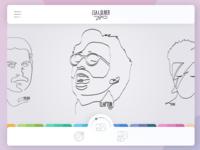 Select Art UI for Lea&Oliver