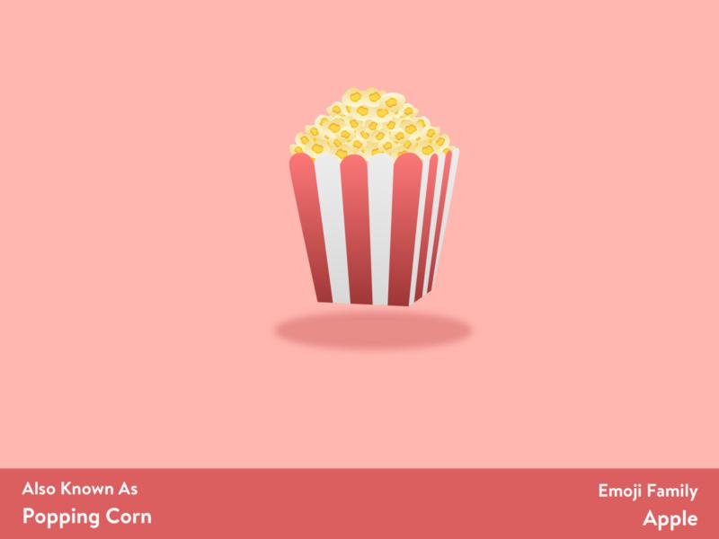Popcorn 🍿 emoji set emojis emoji design sketching sketch app