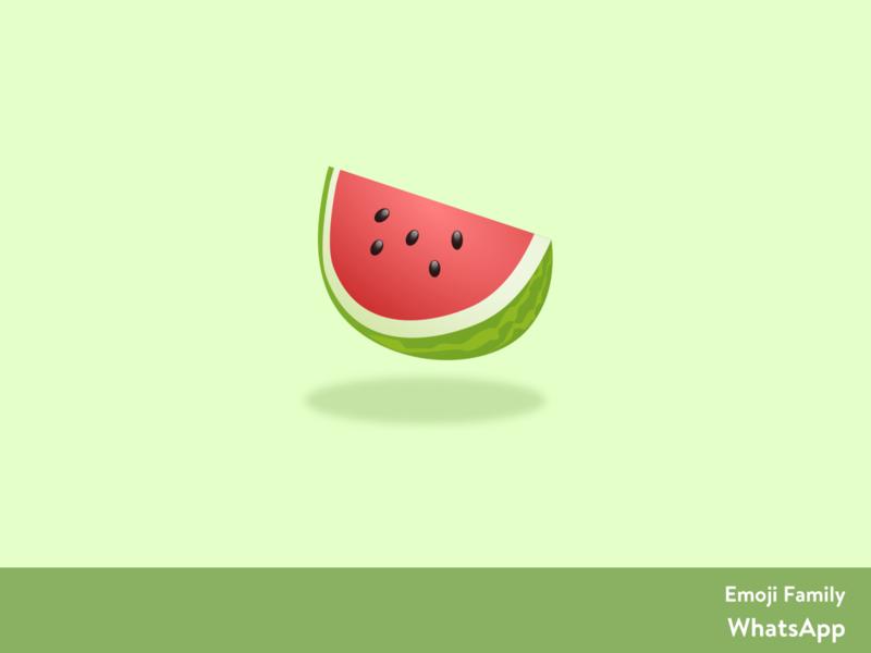 Watermelon 🍉 emoji set emojis emoji vector artwork design sketching sketch app