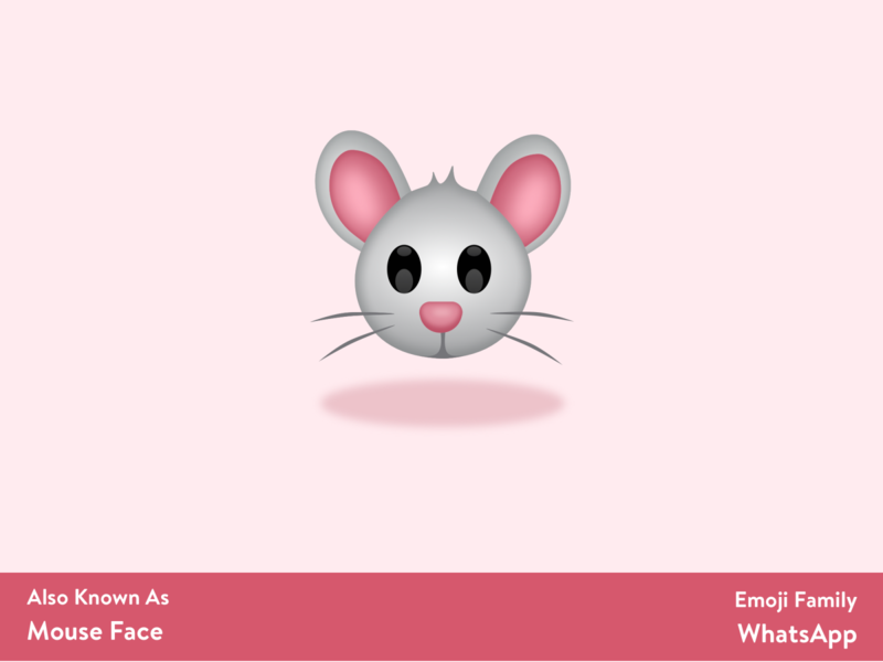 Mouse 🐭 logo logo design branding emoji set emojis vector art emoji design sketching sketch app
