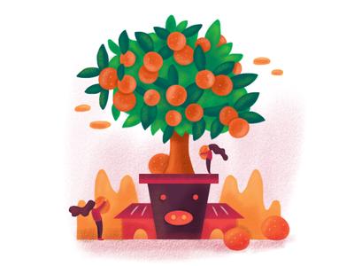 Chinese New Year Illustration 2