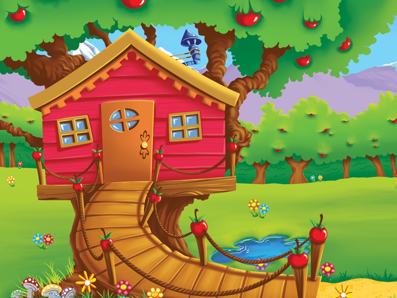 Background – Treehouse backgrounds photoshop childrens art learning