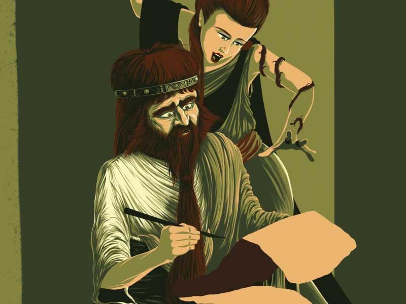 WIP – Numa Pompilius, update  illustration photoshop mythology rome history green