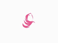 Hijab logo concept