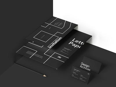 DA | Brand Identity Project typography shapes minimal logo identity design color clean branding brand design adobe